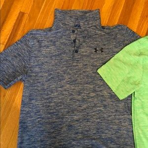 Under armour performance golf shirt